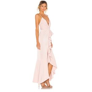 NBD Dresses - NWT NBD Light Me Up Gown in Blush Sz M